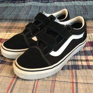 Vans boys sneaker size 2 GUC